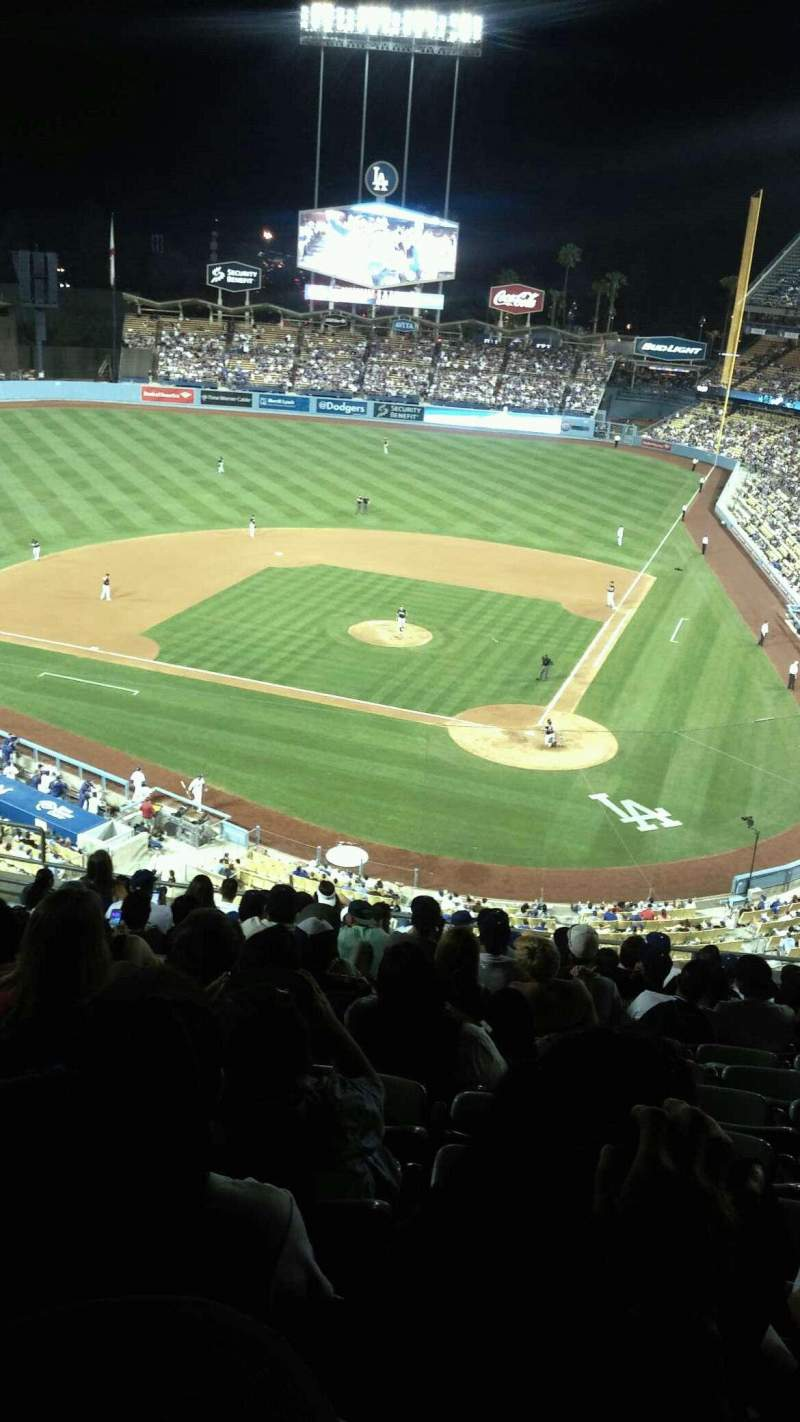Seating view for Dodger Stadium Section 7rs Row O Seat 12