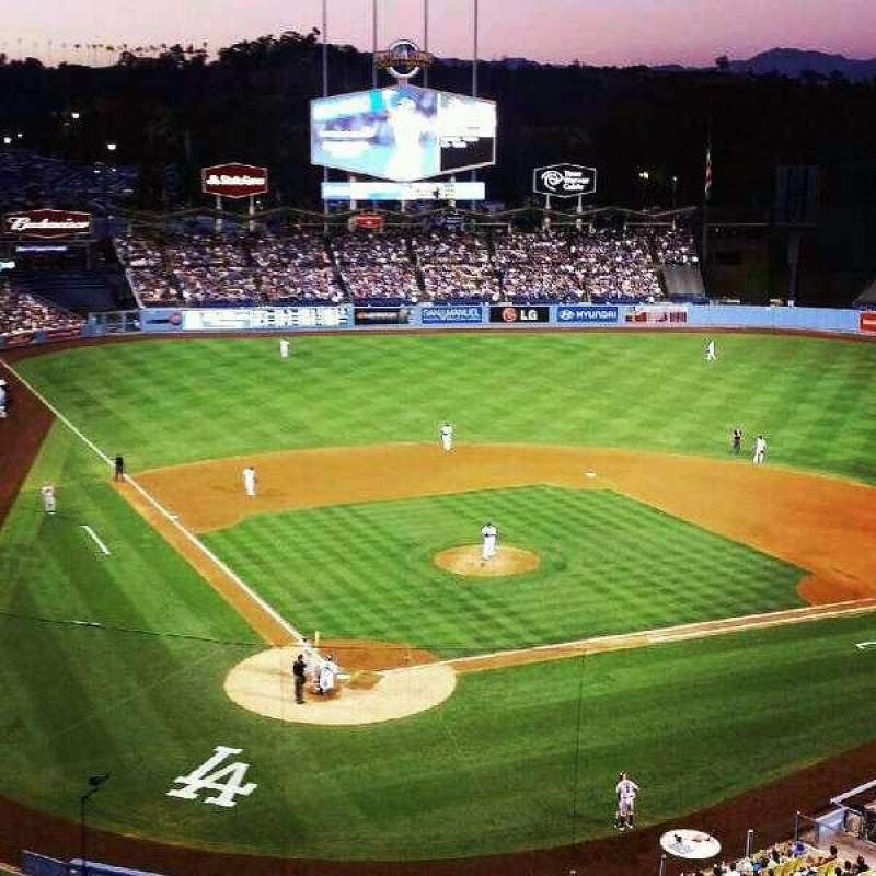 Seating view for Dodger Stadium Section 4RS Row E Seat 13
