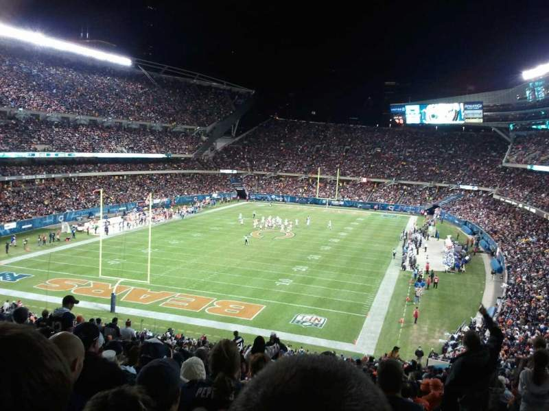 Seating view for Soldier Field Section 220 Row 1 Seat 3