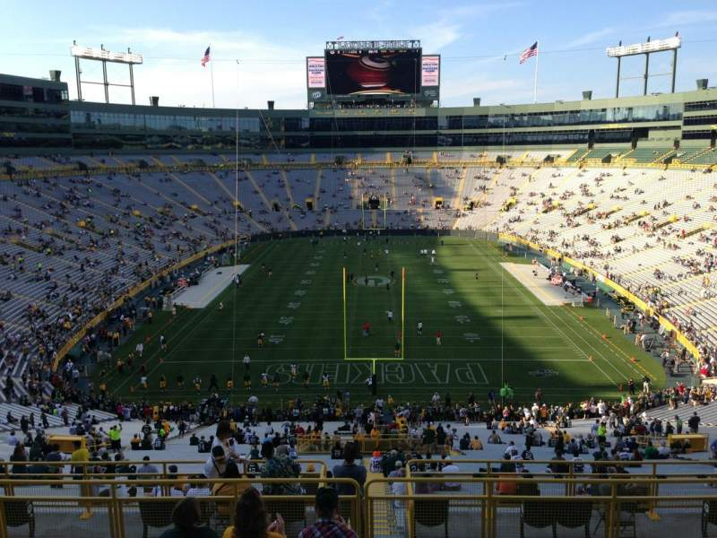 Lambeau Field, section: 354, row: 6, seat: 13