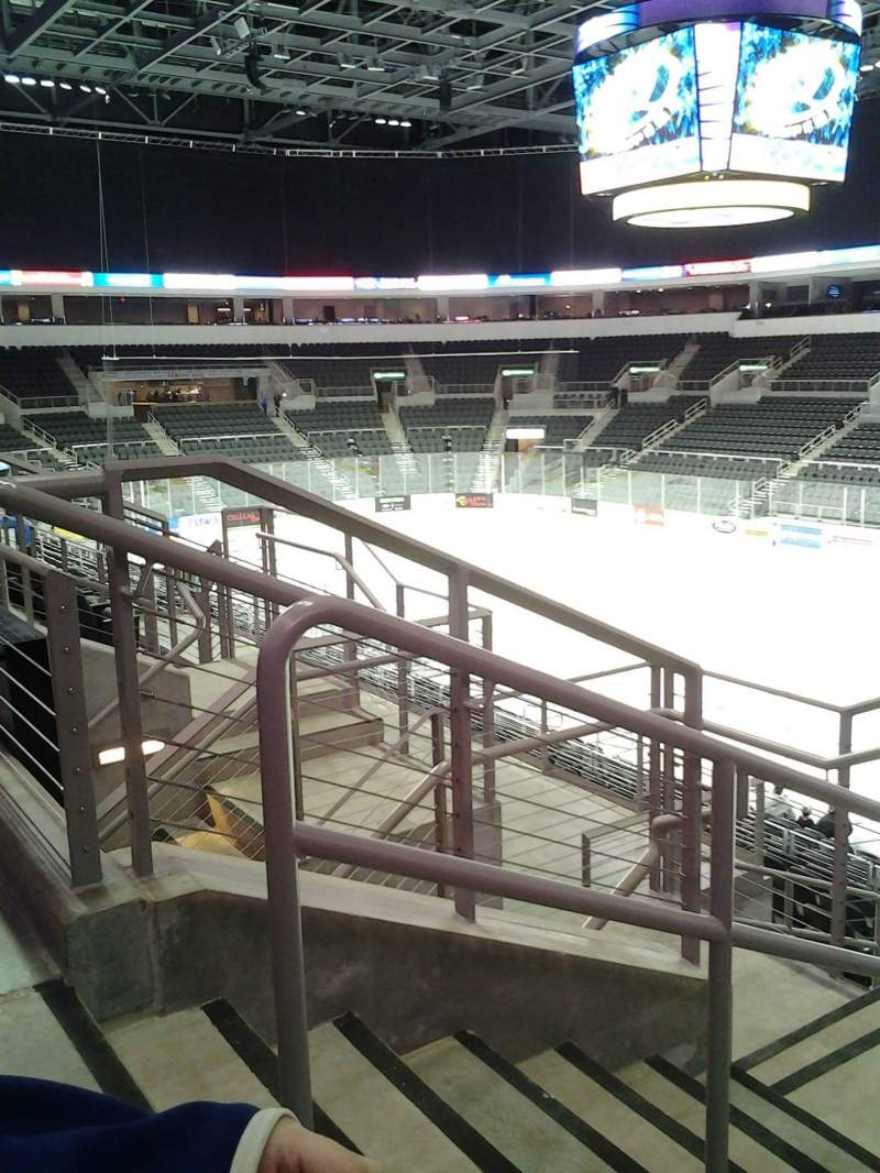 Seating view for Denny Sanford Premier Center Section 101 Row M Seat 20