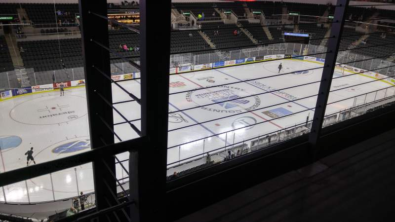 Seating view for Denny Sanford Premier Center Section 219 Row A Seat 1
