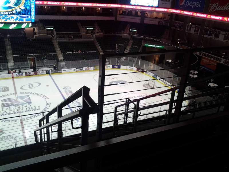Seating View For Denny Sanford Premier Center Section 203 Row F Seat 3