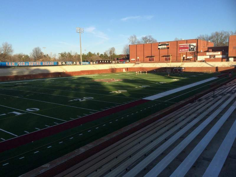 Seating view for Moretz Stadium Section 5 Row P