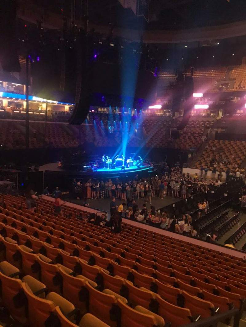 Seating view for TD Garden Section Loge 12 Row 13 Seat 14