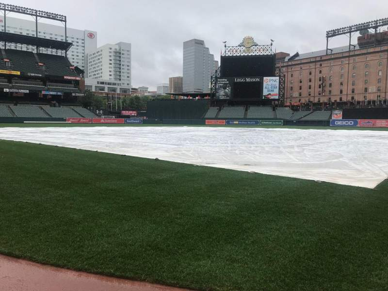 Oriole Park at Camden Yards, section: 38, row: 1