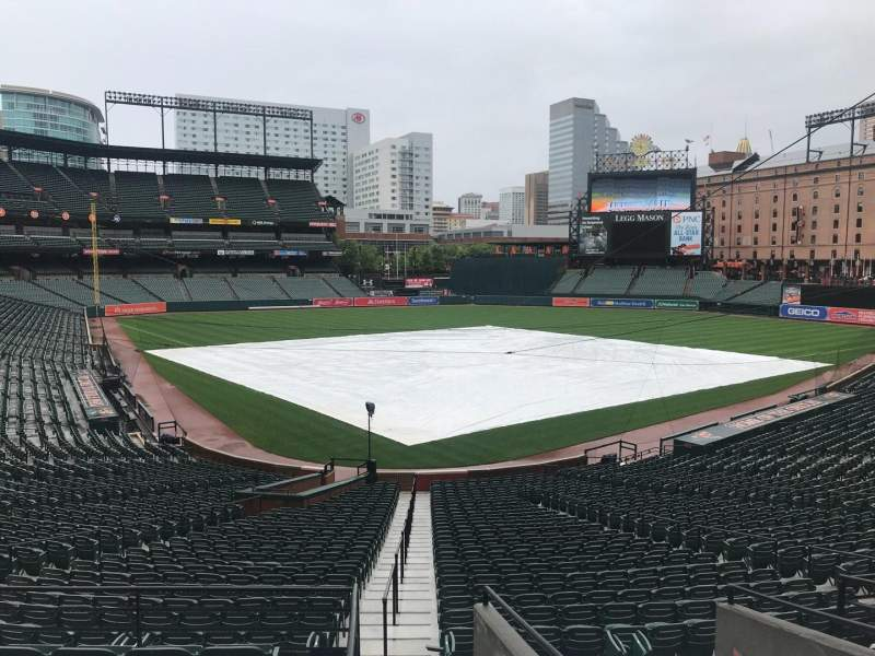 Seating view for Oriole Park at Camden Yards Section 35 Row 1