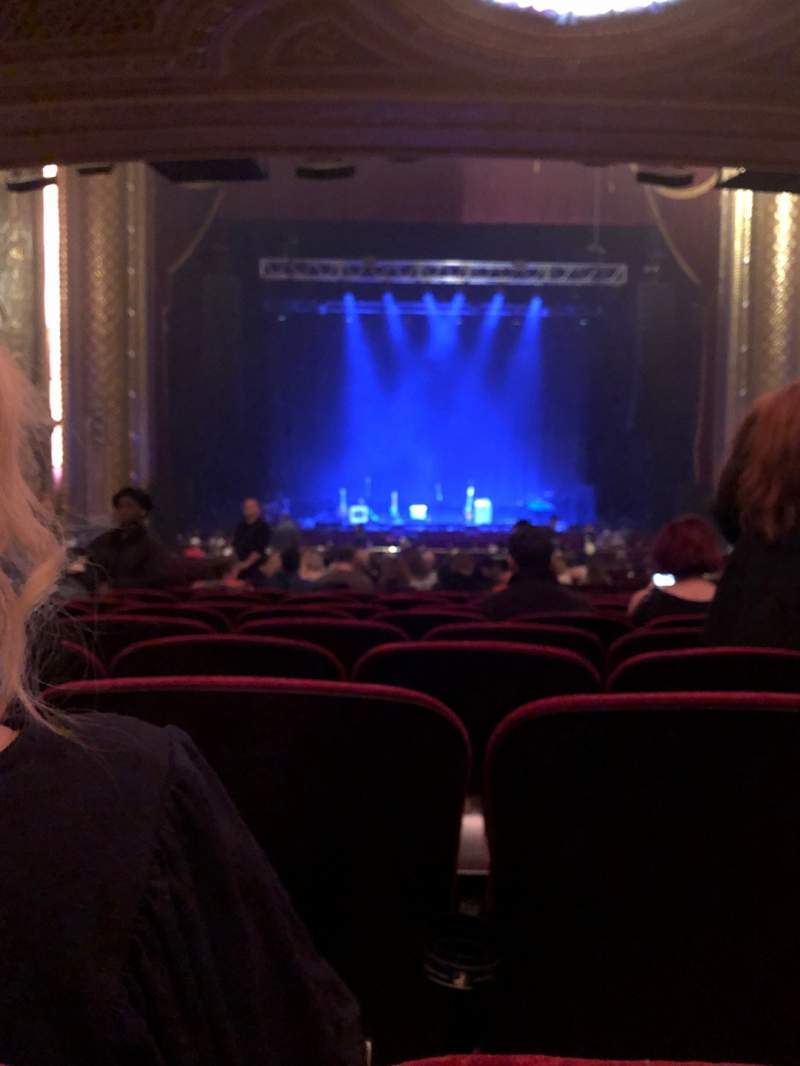 Seating view for Wang Theatre Section Orch C Row CC Seat 103