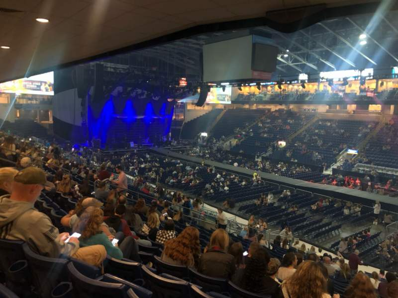 Seating view for Webster Bank Arena Section 117 Row U Seat 5