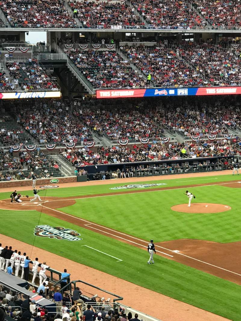 Seating view for SunTrust Park Section 214 Row 5 Seat 5