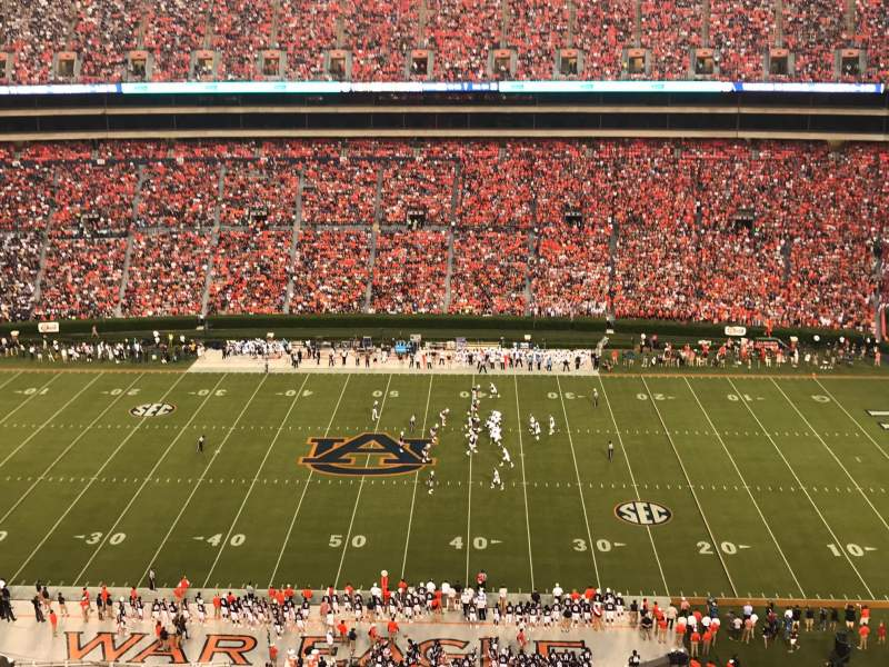 Seating view for Jordan-Hare Stadium Section 56 Row 21 Seat 16