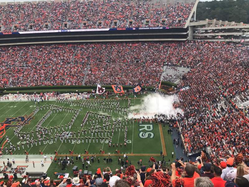 Seating view for Jordan-Hare Stadium Section 60 Row 27 Seat 17