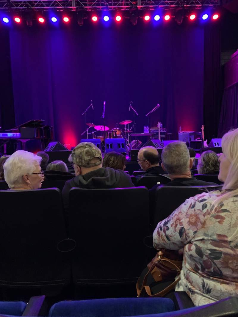 Seating view for Newton Theatre Section Orchestra Front Center Row E Seat 108