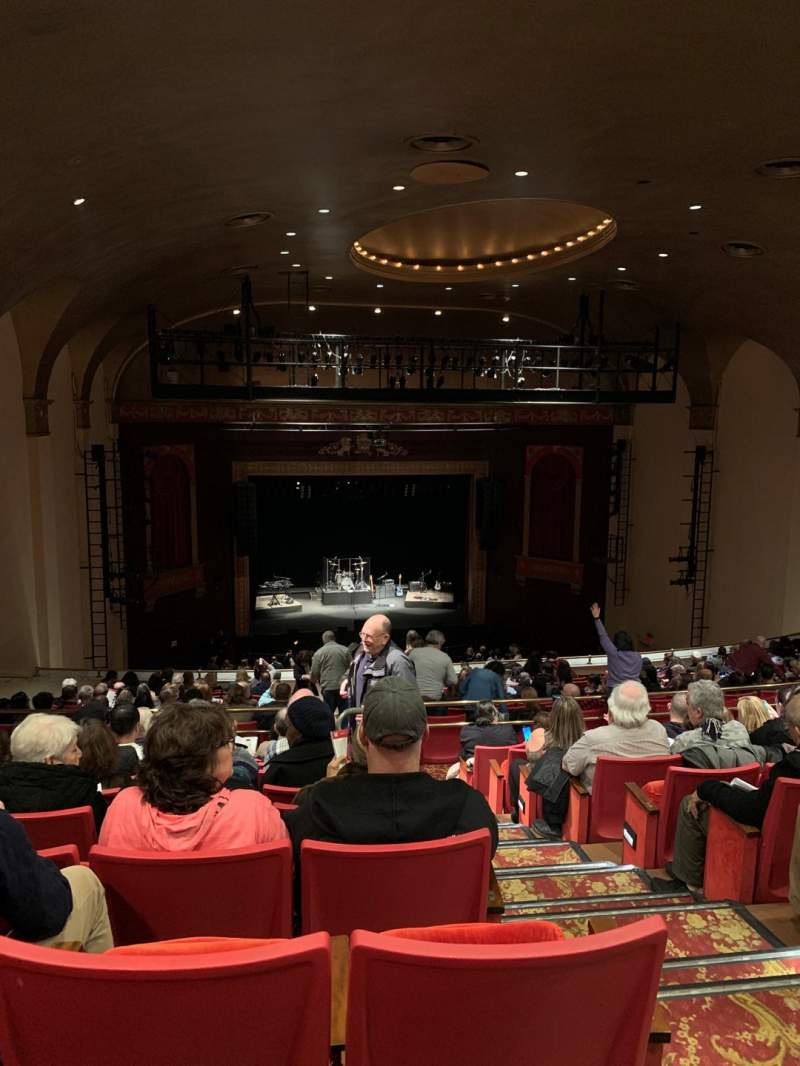 Seating view for Bergen Performing Arts Center Section Balcony L Row D Seat 3
