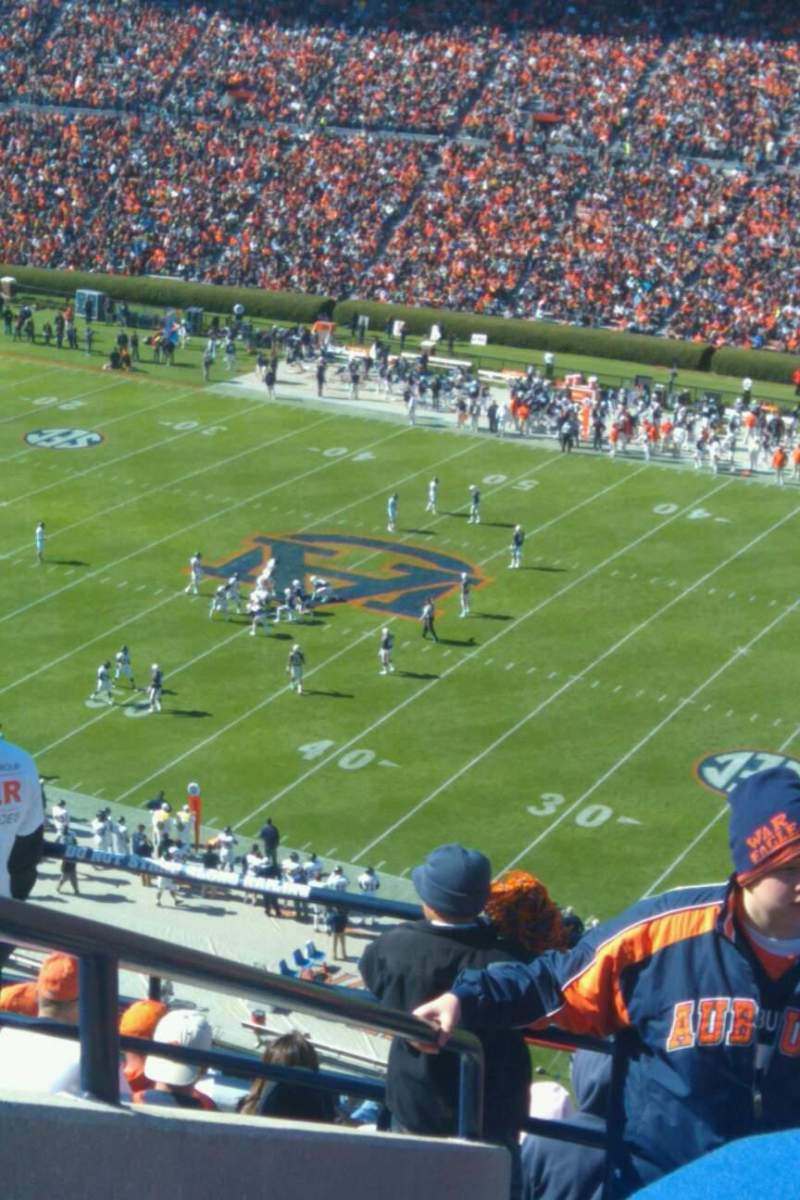 Seating view for Jordan-Hare Stadium Section 113