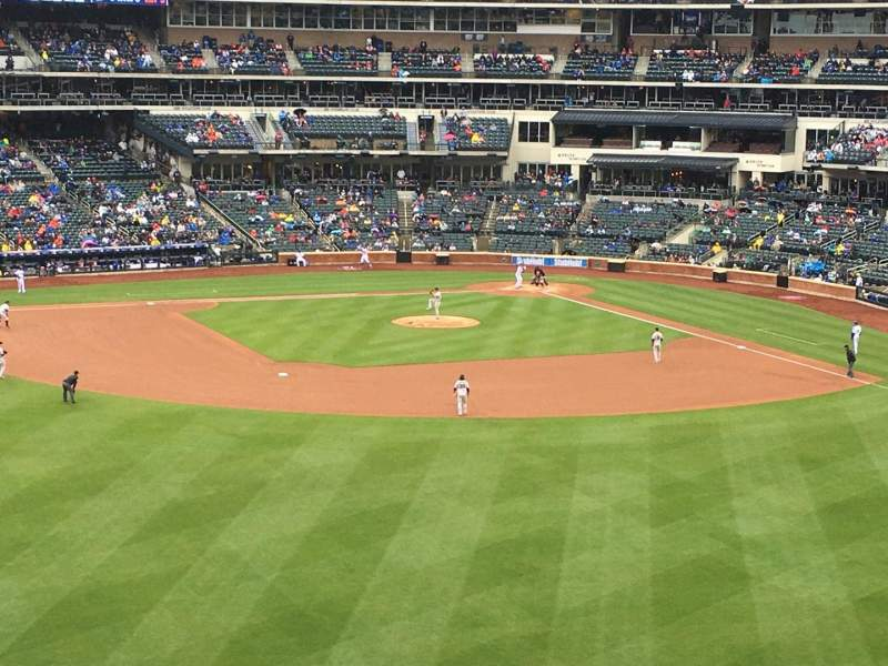 Seating view for Citi Field Section 337 Row 4 Seat 19
