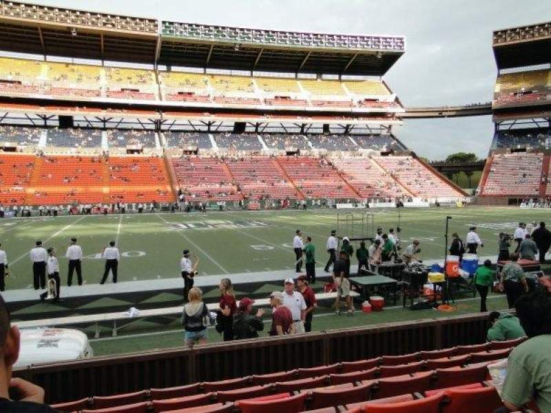 Seating view for Aloha Stadium Section L Row 7 Seat 14