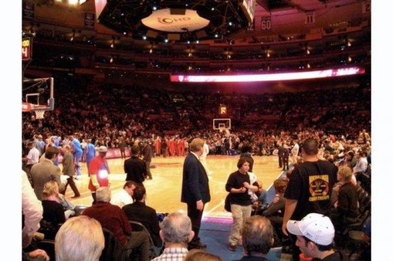 Seating view for Madison Square Garden Section 10 Row F Seat 3