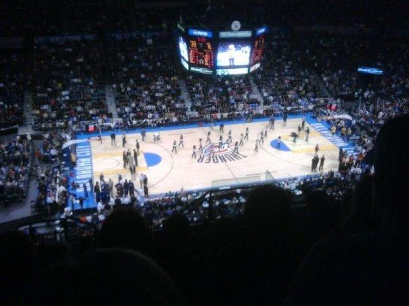 Seating view for Chesapeake Energy Arena Section 325 Row M Seat 5