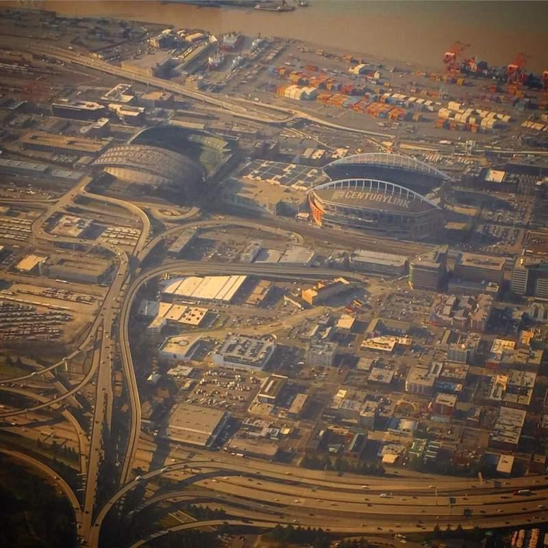 CenturyLink Field, section: Above