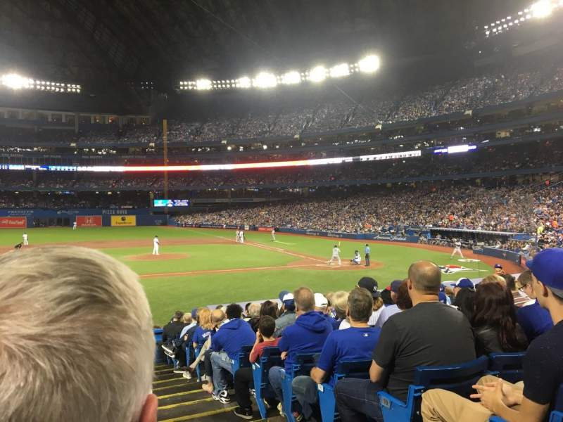 Seating view for Rogers Centre Section 126L Row 22 Seat 101
