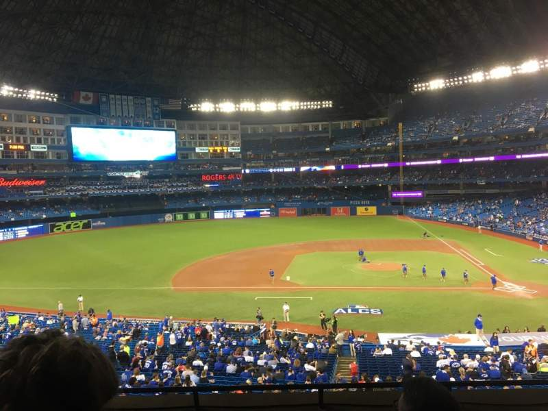 Seating view for Rogers Centre Section 229 Row 5 Seat 5