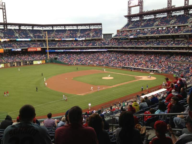 Seating view for Citizens Bank Park Section 233 Row 9 Seat 6