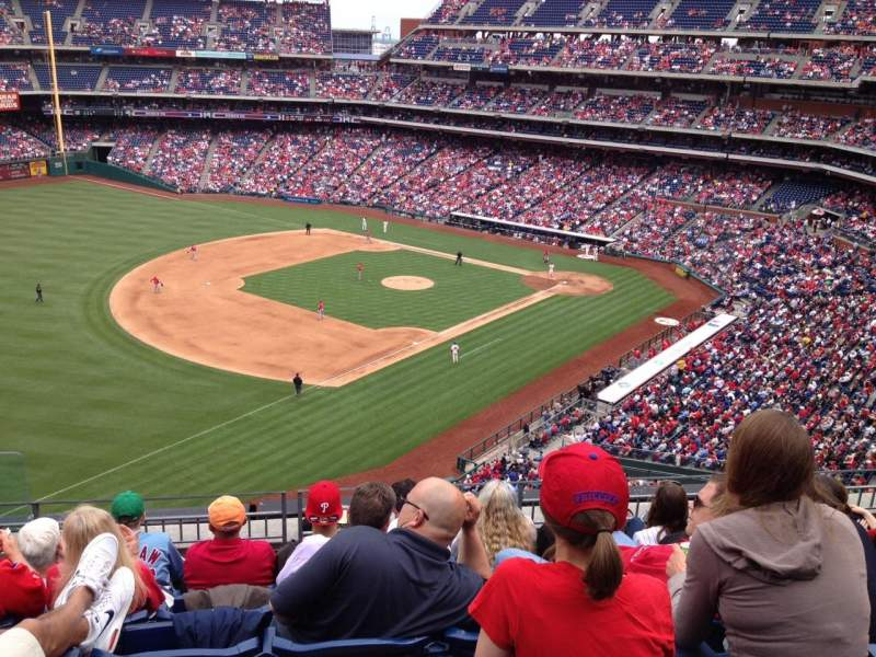 Seating view for Citizens Bank Park Section 330 Row 6 Seat 23