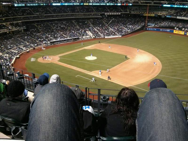Seating view for Citi Field Section 405 Row 4