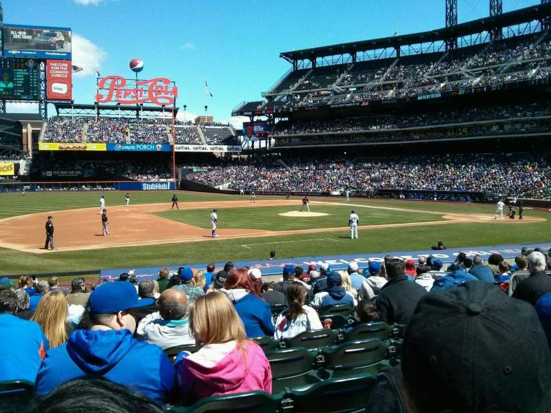Seating view for Citi Field Section 123 Row 10