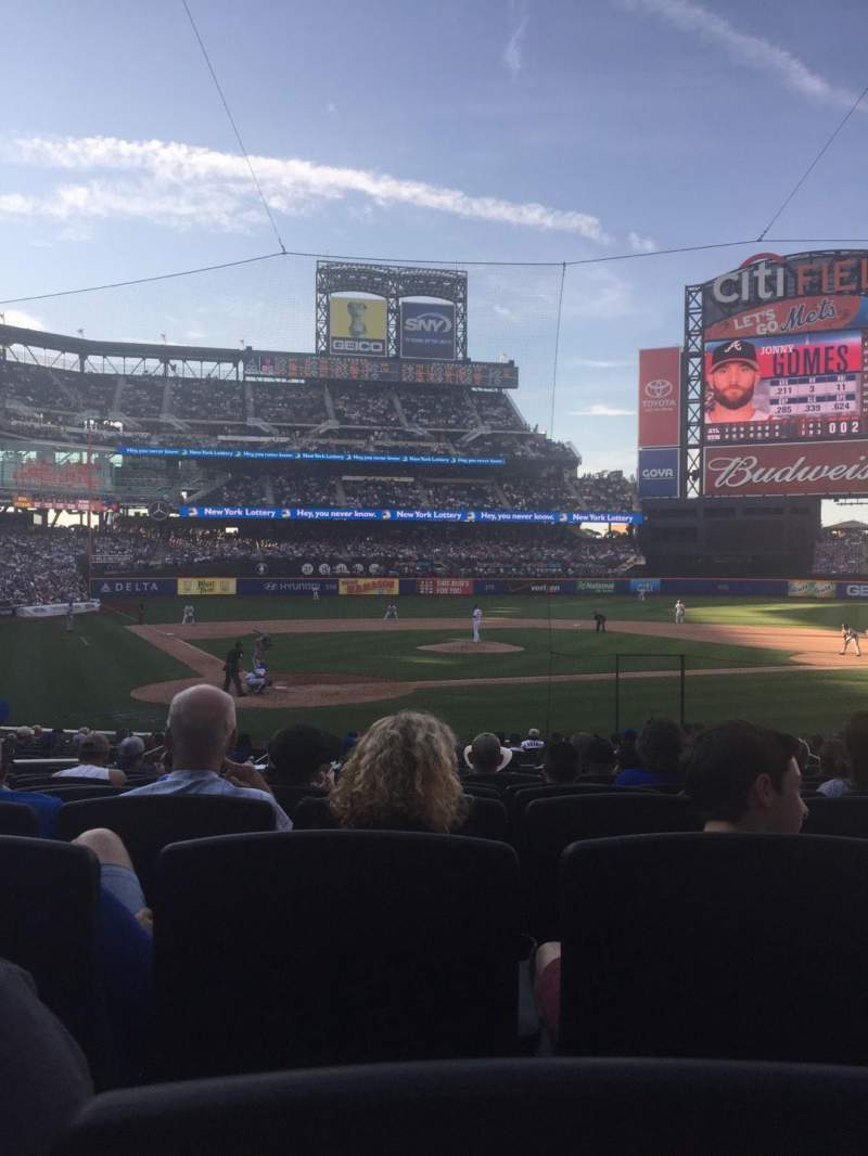 Seating view for Citi Field Section 13 Row 18