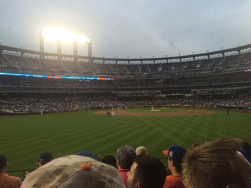 Seating view for Citi Field Section 138 Row 5 Seat 5