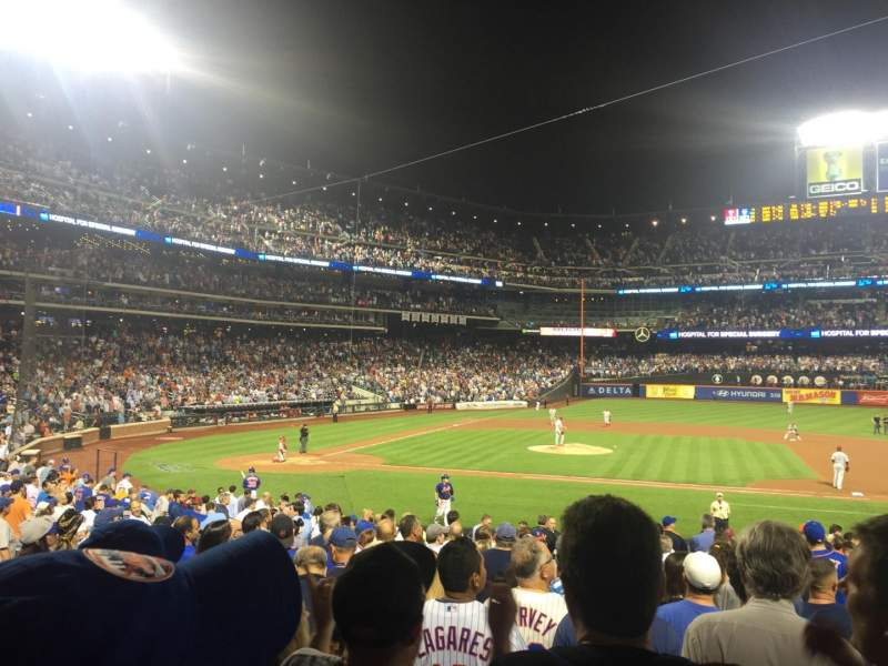 Seating view for Citi Field Section 112 Row 25 Seat 4