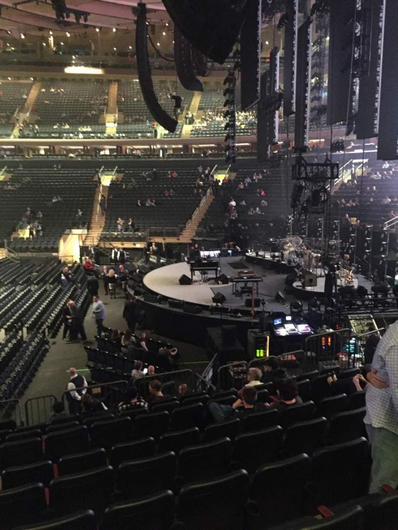 Madison Square Garden section 109 row 12 seat 7 Billy Joel