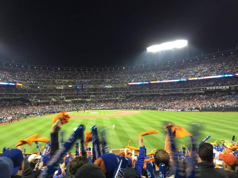 Seating view for Citi Field Section 141 Row 23