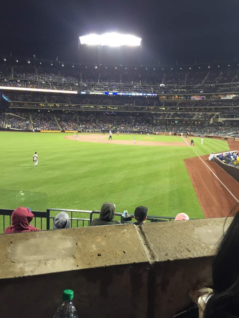 Seating view for Citi Field Section 132 Row 25 Seat 11