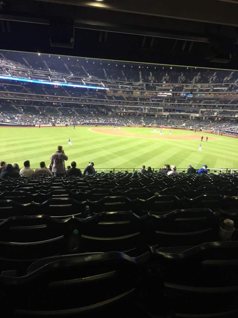 Seating view for Citi Field Section 138 Row 19 Seat 18