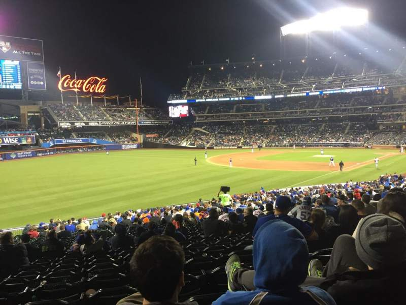 Seating view for Citi Field Section 129 Row 34 Seat 16