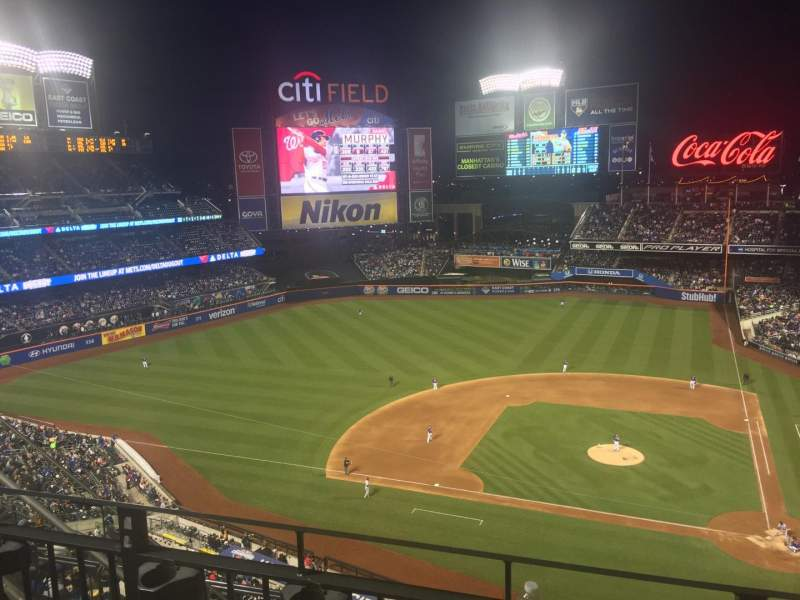 Seating view for Citi Field Section 519 Row 2 Seat 18