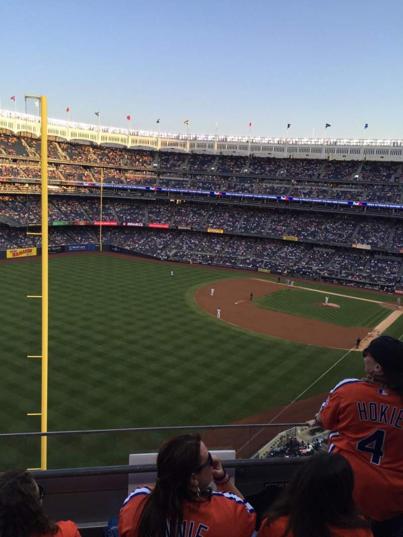 Seating view for Yankee Stadium Section 332a Row 3 Seat 7