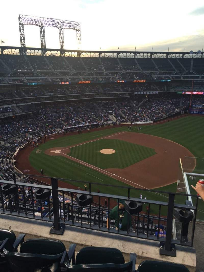 Seating view for Citi Field Section 504 Row 3 Seat 20
