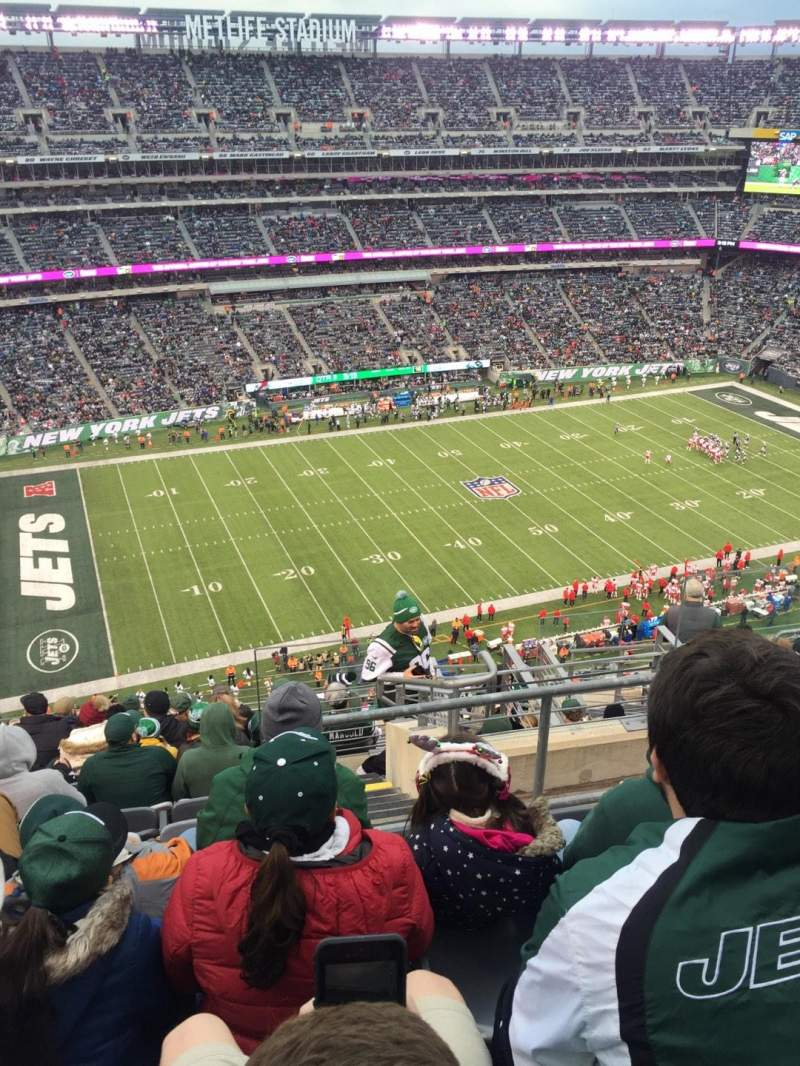 MetLife Stadium, section: 342, row: 15, seat: 5