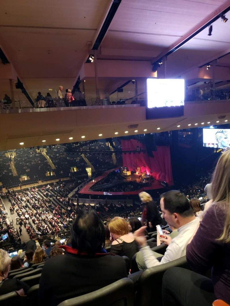 Seating view for Madison Square Garden Section 210 Row 10 Seat 5