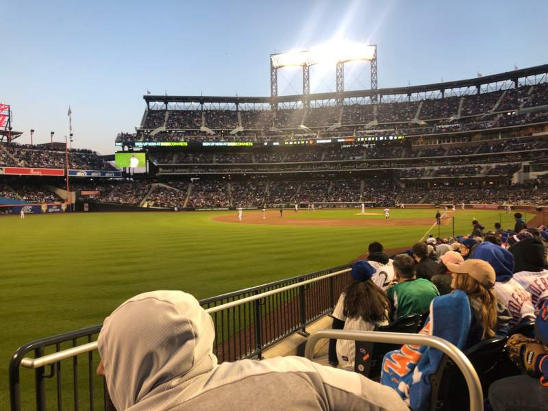 Seating view for Citi Field Section 130 Row 15 Seat 2
