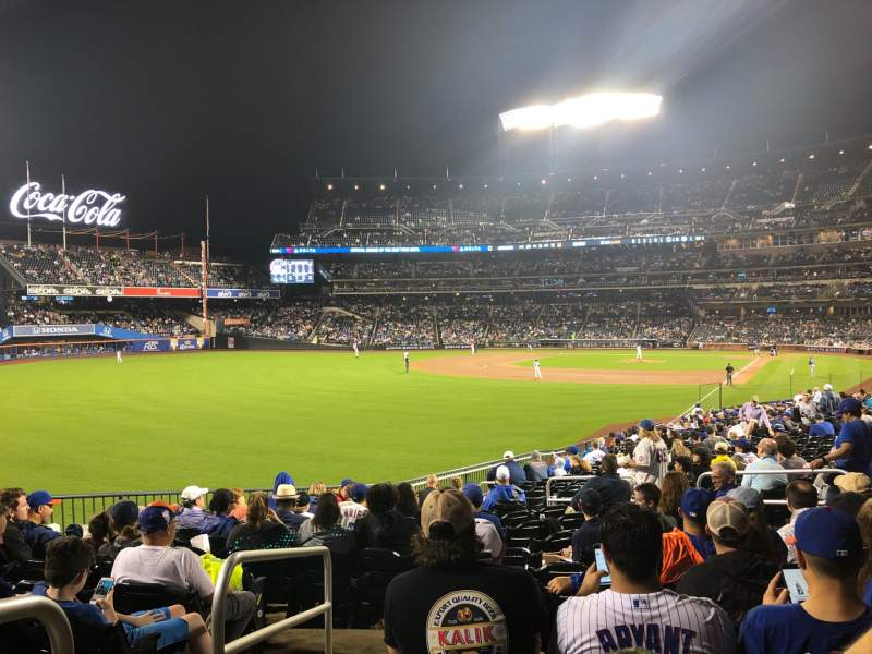 Seating view for Citi Field Section 130 Row 26 Seat 13