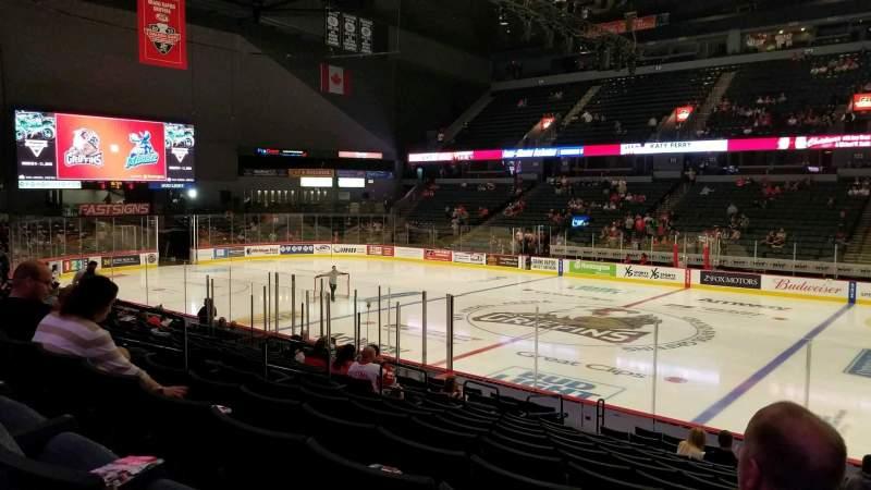 Van Andel Arena, section: 107, row: P, seat: 17
