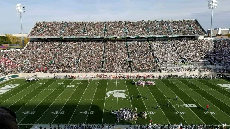 Seating view for Spartan Stadium Section 124 Row 2 Seat 5