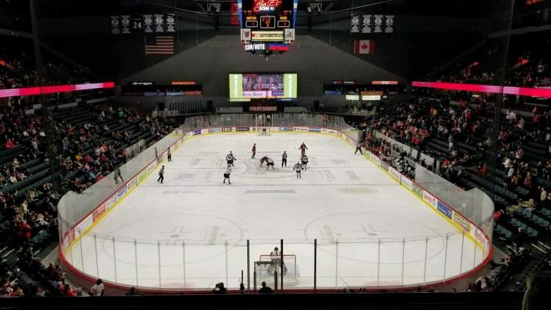 Van Andel Arena, section: 201, row: D, seat: 13