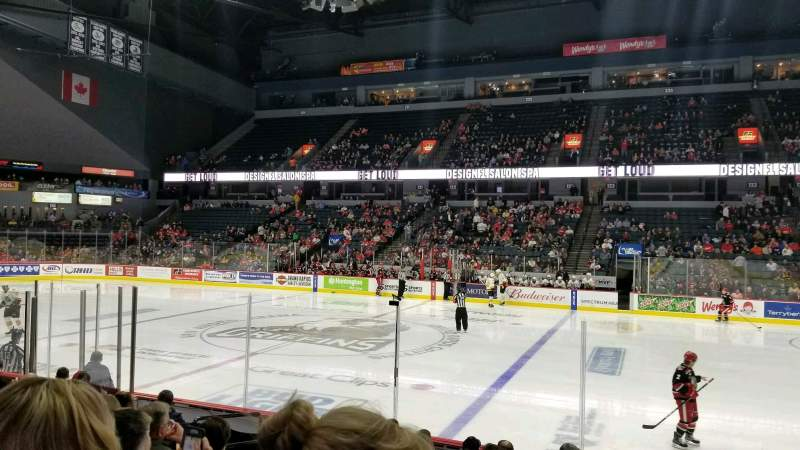 Van Andel Arena, section: 107, row: J, seat: 16