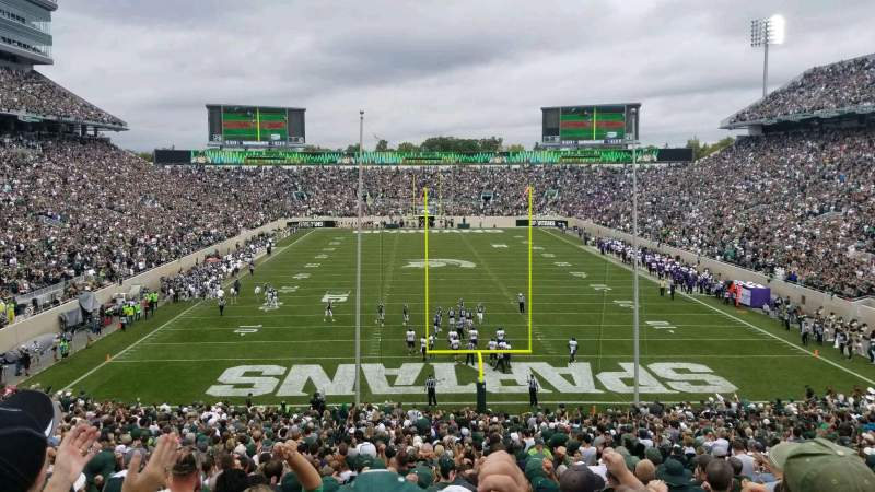 Seating view for Spartan Stadium Section 16 Row 45 Seat 48